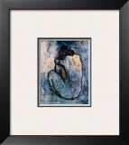 Blue Nude Print by Pablo Picasso