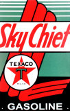 Texaco Sky Chief Plåtskylt