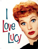 I Love Lucy - TV History Tin Sign