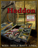 Heddons Tackle Box Tin Sign