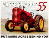 Massey Harris 55 - Metal Tabela