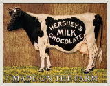 Hershey&#39;s Milk Chocolate Tin Sign
