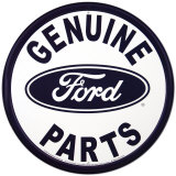 Ford Parts Placa de lata