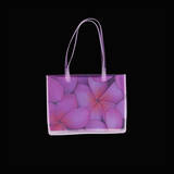 Flowered Purse in Square Poster