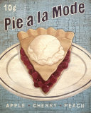 Pie a la Mode Art by Louise Max