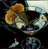 Martini: Chocolate Poster by Debbie DeWitt