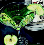 Martini: Apple Prints by Debbie DeWitt