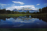 Parc national du Grand Teton Poster par Mike Norton