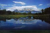 Grand Teton nasjonalpark Plakat av Mike Norton