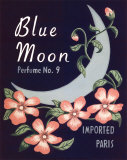 Blue Moon Prints by Louise Max