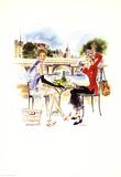 Dejeuner Parisien Prints by  Tina