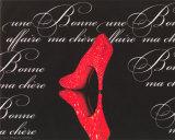 Poussoir Rouge Posters