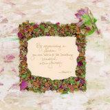 By Appreciating a Garden Prints