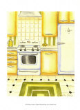 Retro Kitchen II Prints by Chariklia Zarris