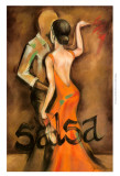 Salsa Print by Jennifer Goldberger