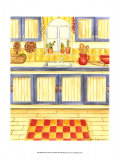 Western Kitchen Prints by Chariklia Zarris