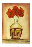 Southwest Amaryllis II Posters by Jennifer Goldberger