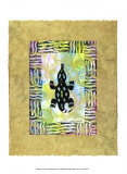 Amphibien antik III Kunstdrucke von Nancy Slocum