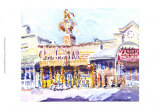 Cowboy Palace, Jackson, WY Art by J. Presley