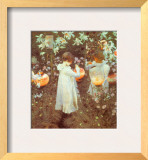 Carnation, Lily, Lily, Rose Posters by John Singer Sargent