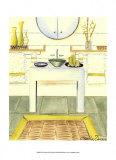 Zen Bath Prints by Chariklia Zarris