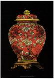 Red Porcelain Vase II Poster