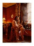 Femme avec Miroir Prints by Rob Hefferan