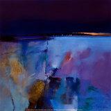 Blauer Horizont Poster von Peter Wileman
