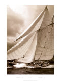 Schooner Mariette Prints by Christian Fevrier