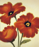 Orange Poppies Poster by Paula Benson