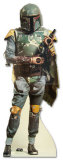 Boba Fett Star Wars Movie Lifesize Standup Poster Stand Up