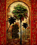 Moroccan Collage II Poster af Eduardo Moreau