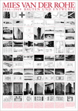 Mies Van Der Rohe - Planned and Unfinished Buildings - Art Print
