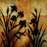 Iris Silhouette I Prints by Erin Lange
