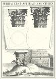 Chapiteau Corinthien Posters by Claude Perrault
