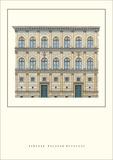 Palazzo Rucellai, Florence Prints by Leon Battista Alberti