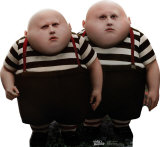 Alice In Wonderland - Tweedle Dee and Tweedle Dum Stand Up