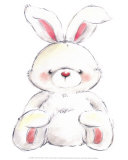 Rabbit Print by  Makiko