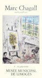 Musee de Limoges, 1980 Collectable Print by Marc Chagall
