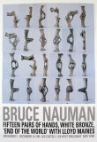 Fifteen Pairs of Hands, 1996 Poster par Bruce Nauman