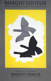 Lithographie, 1973 Samlertryk af Georges Braque