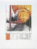 Les portailsXXII Affiches par  Christo