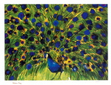 Peacock Reproductions de collection par Walasse Ting
