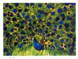 Peacock Trykk - samleobjekt av Walasse Ting