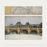 Le Pont Neuf Wrapped II Art by  Christo