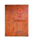 Le général en chef des barbares Reproductions pour les collectionneurs par Paul Klee