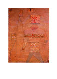 Le General en Chef des Barbares Collectable Print by Paul Klee