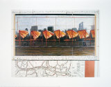 The Gates X Poster von Christo 