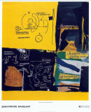 Sans titre, 1984 Affiches par Jean-Michel Basquiat