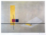 Konstruktion, 1922-23 Prints by Laszlo Moholy-Nagy